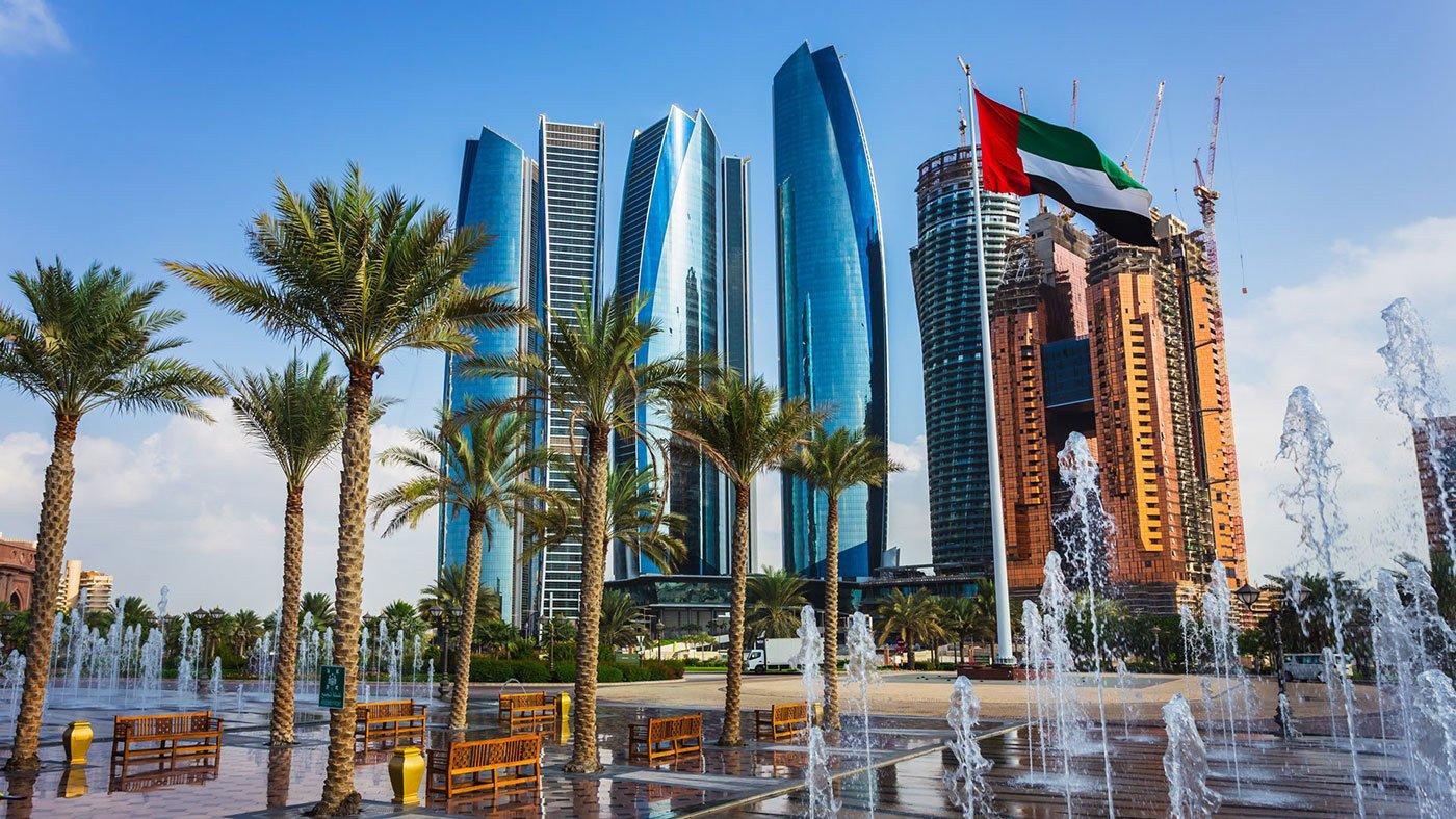 Golfreizen Abu Dhabi (stad)
