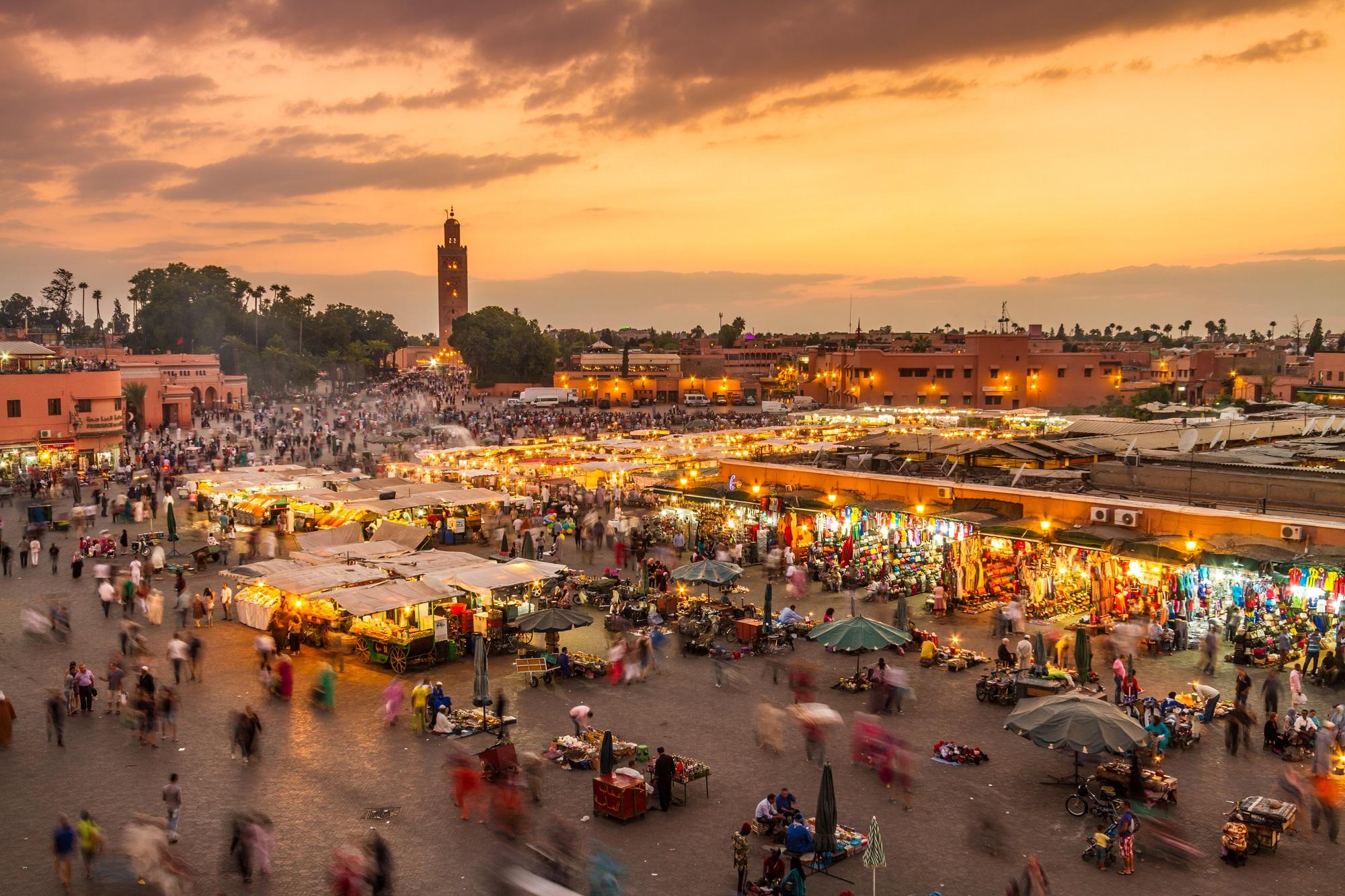 Golfreizen Marrakech