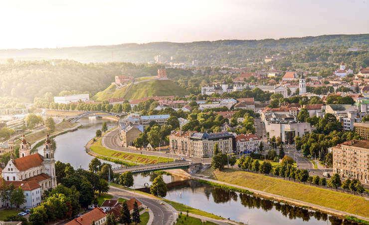 Golfreizen Vilnius
