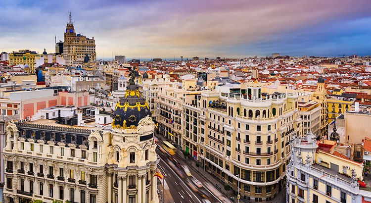 Golfreizen Madrid