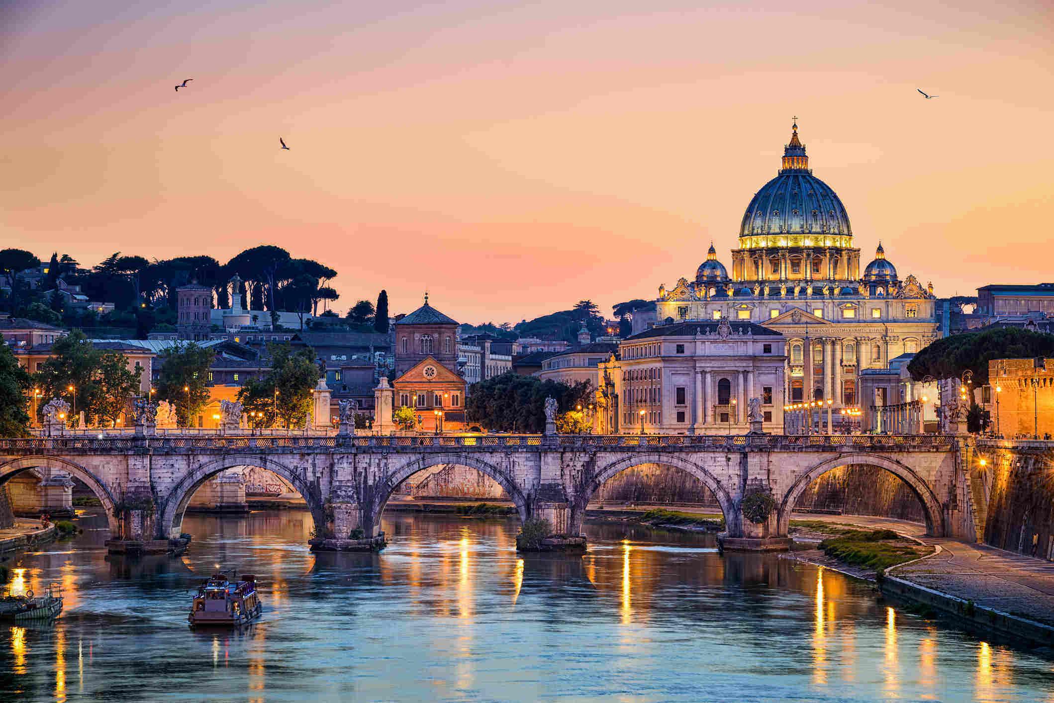 Golfreizen Rome