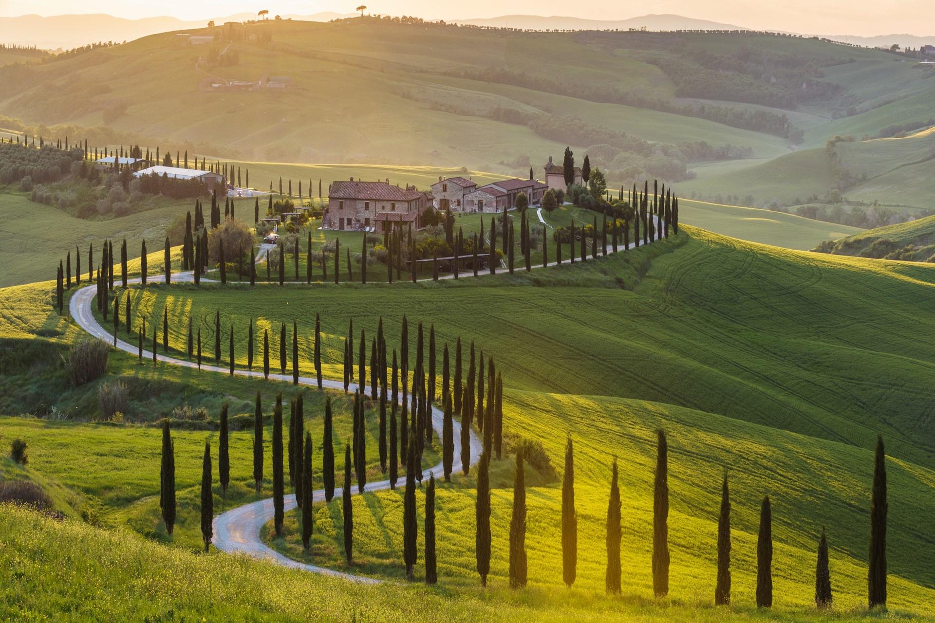 Golreizen Toscane