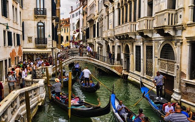 Golfreizen Venetië