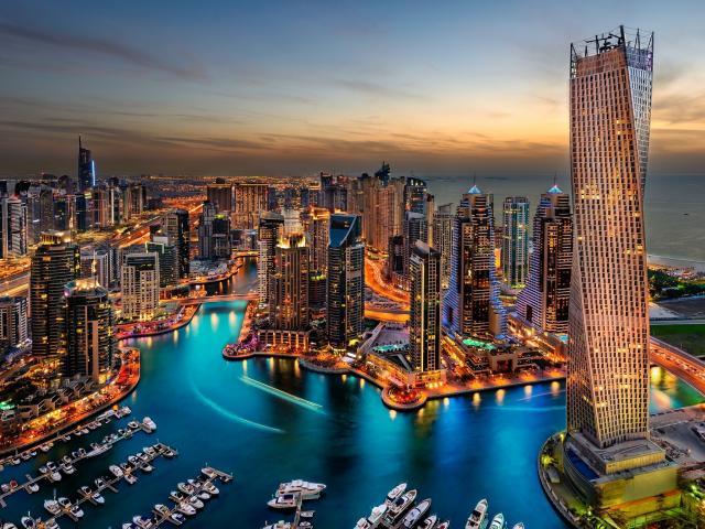 Golfreizen Dubai (stad)